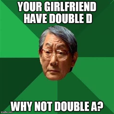Double Picture Meme Generator - high expectations asian father meme imgflip