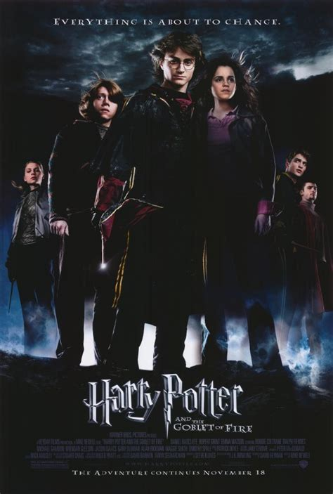 Harry Potter and the Goblet of Fire 2005 [DVD] [Blu-Ray] [4K]