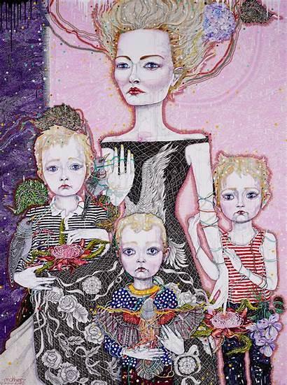 Prize Barton Archibald Mother Kathryn Portrait Nsw