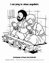 Silas Paul Coloring Jail Popular sketch template
