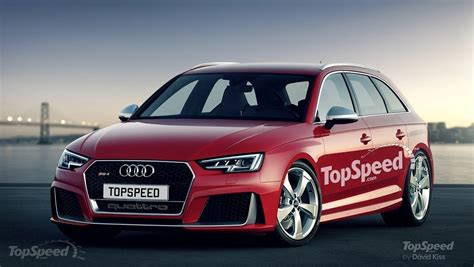 Speculative Details Of The 2017 Audi Rs4 Avant