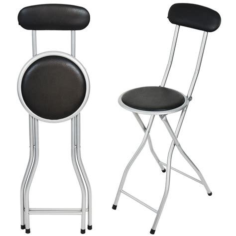 fold up bar stools portable folding bar stool shopmonk 3503