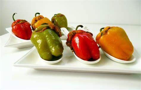 cuisiner un poivron mini poivrons farcis la recette facile par toqués 2 cuisine