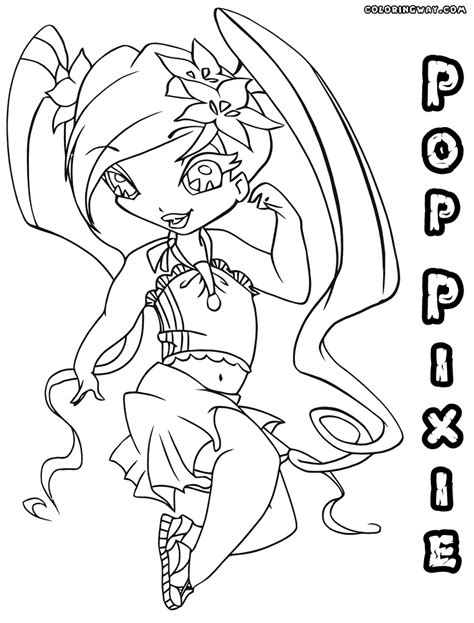 Kleurplaat Poppixie by Poppixie Coloring Pages Coloring Pages To And Print