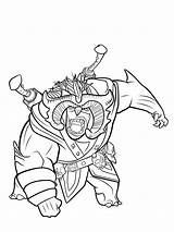 Trollhunters Coloring Pages Fun sketch template
