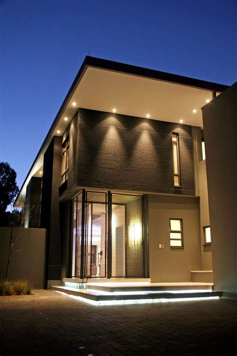 luxury  large contemporary house nice lighting