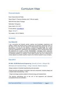 Engineering Technician Cover Letter Mechanical Engineer Curriculum Vitae