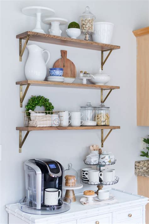 open shelving kitchen ideas   diy hobungalow