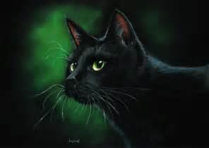 Nighthawk black cat by art-it-art on deviantART