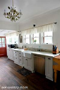 A Simply White Farmhouse Kitchen