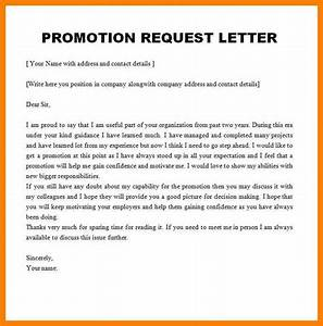 Promotion Recommendation Letter For Employee Gallery - Download CV Letter And Format Sample Letter