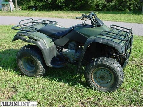 armslist for sale trade 2001 honda rancher 350 2x4 reduced