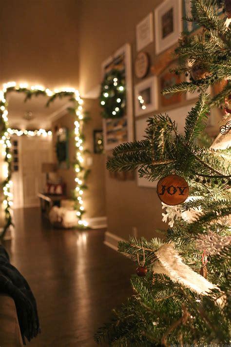 cozy christmas home decor mountain modern life