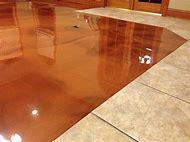 Epoxy Stained Concrete Floors