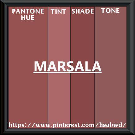 pantone seasonal color swatch marsala color thesaurus