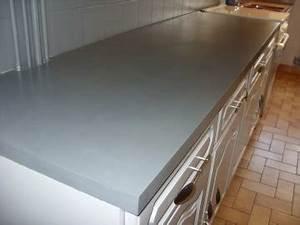 Beton Pour Plan De Travail : plan de travail beton cire la deco de pepeg ~ Premium-room.com Idées de Décoration