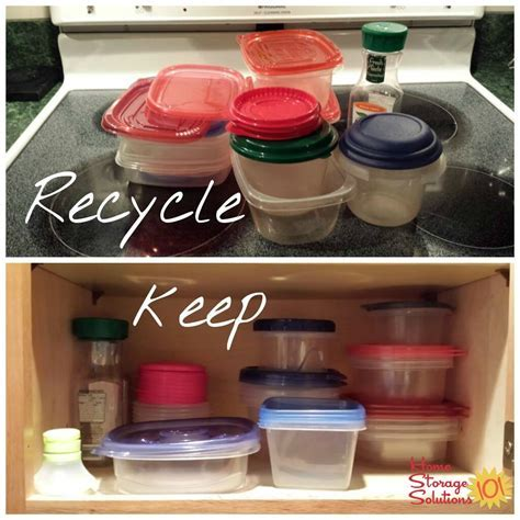 Declutter Food Storage Containers {15 Minute Mission}