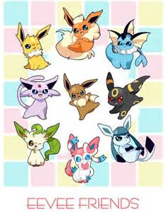 Pokemon Eevee and Friends