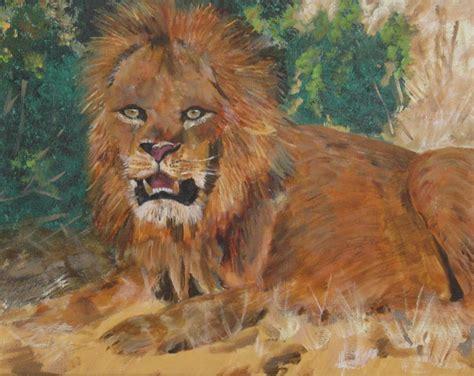 Gail Mintz Art African Animal Paintings