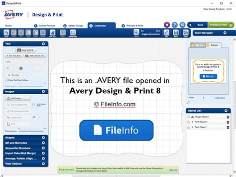 avery design and print avery file extension what is an avery file and how do i