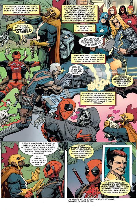 Deadpool Vs Thanos 1 [español] Taringa