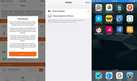 record my screen iphone vidyo a screen recorder for ios macstories