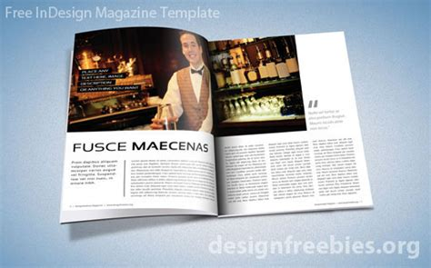 Free Indesign Magazine Templates by Free Exclusive Indesign Magazine Template V 2 Designfreebies