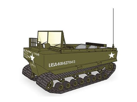 hibious vehicle ww2 1 48 m29 weasel wwii us amphibious vehicle all resin kit