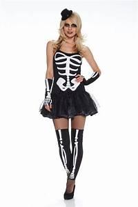 Halloween Skelett Kostüm : halloween kost m sexy skeleton 1 karneval skelett fasching ~ Lizthompson.info Haus und Dekorationen
