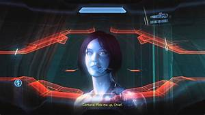 Halo 4 - Master Chief Eyes Up Cortana - YouTube