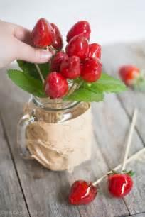 de amour de cuisine bouquet d amour sucettes de fraises façon pomme d amour