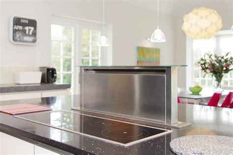 kitchen island extractor fan family kitchen in farnham surrey