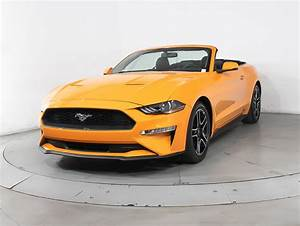 Used 2018 FORD MUSTANG Ecoboost Premium Convertible for sale in MIAMI, FL   102225   Florida ...