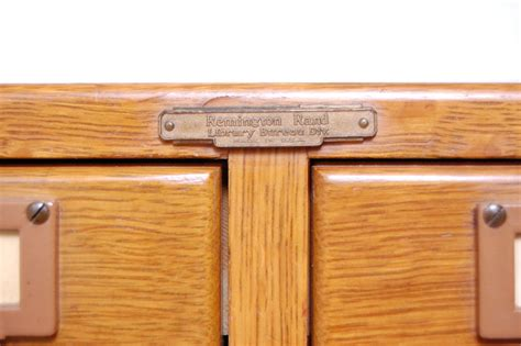 catalogue bureau remington rand library bureau card catalog 6 drawer file