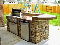 interesting small outdoor kitchen Simple Outdoor Kitchen Design Ideas - Interior Home Decorating Ideas