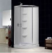 Corner Shower Stalls 32x32 by DreamLine Sparkle Clear Glass Enclosure 32x32 Inch Base And Backwall Kit