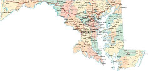 printable map  map  maryland counties  printable
