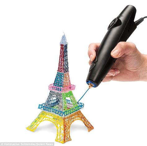 3d pen the pen that lets you write in thin air 3d printing tool creates spectacular drawings made of