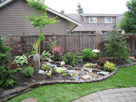 Backyard Landscaping Diy by Small Backyard Makeover Srp Enterprises Weblog