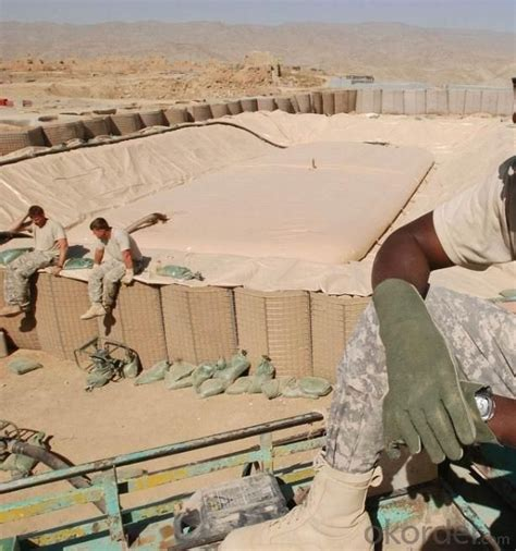 buy hesco barriers military barrier welded gabion wall