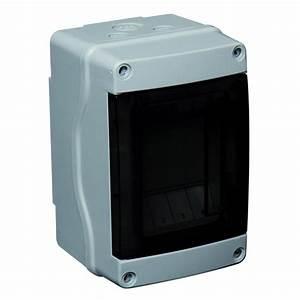 Coffret Electrique Leroy Merlin : tableau lectrique tanche nu debflex 1 rang e 4 modules ~ Dailycaller-alerts.com Idées de Décoration