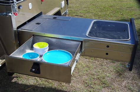 Bbq Sinks by Custom Camper Trailer Company Brisbane Toy Haulers And
