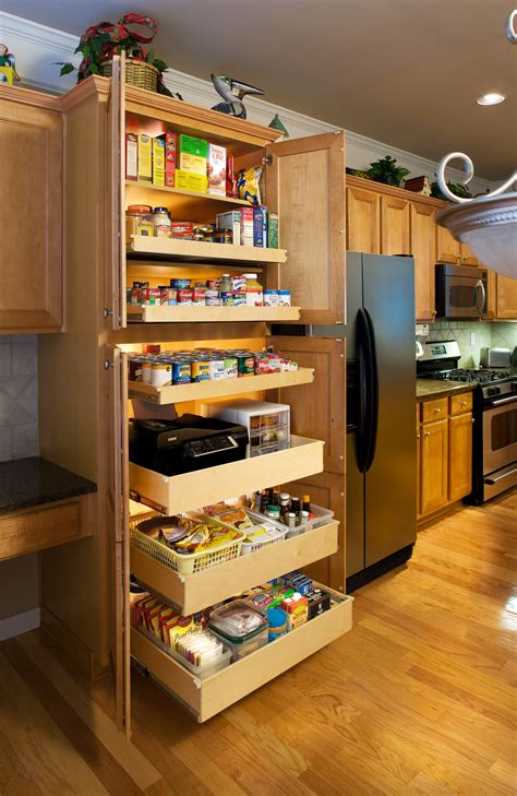 kitchen pantry cabinet with pull out shelves ideas for custom kitchen cabinets roy home design 9824