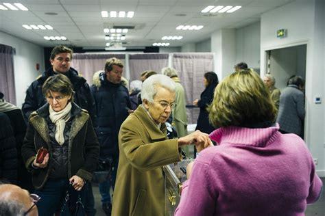 bureau de vote neuilly sur seine la droite aux urnes libération