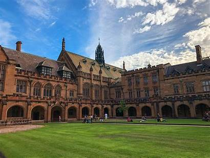 University Sydney Hogwarts Tourists Some Witchcraft Wizardry