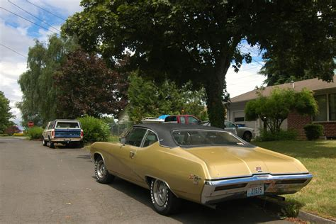 parked cars  buick gs california