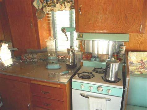 rv kitchen accessories 1962 shasta trailer vintage kitchen accessories in aqua 2073