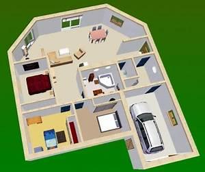 best plan d une maison de luxe moderne contemporary With plan d une maison en 3d