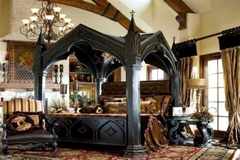 20 Best Gothic Bedroom Ideas   Decoration Channel