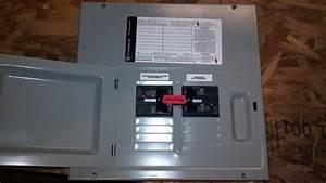 Ge 60a  60a Generator Transfer Switch Breaker Box